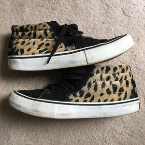 Supreme cheetah vans